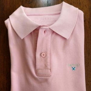 """Barbour """"The Sporting Polo"""" S/S Mesh Polo Shirt L"""